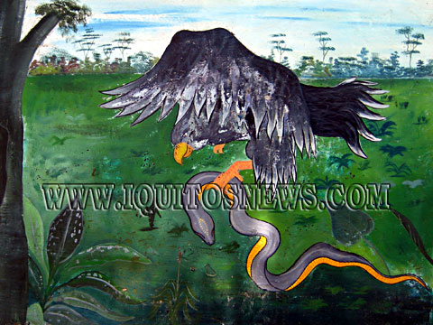 Iquitos Legend of Huancahui